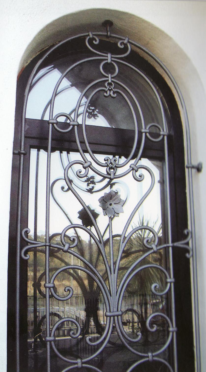 Installation security grilles: grilles and railings