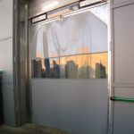 Flexible PVC doors
