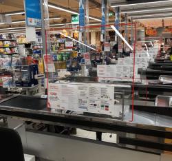 Barriere protezione in Plexiglass